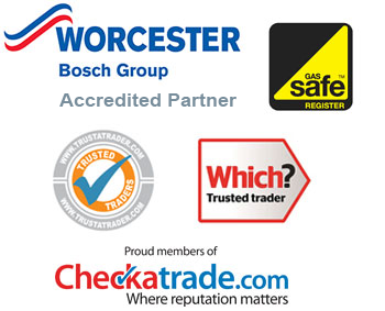 checkatrade plumber, trustatrader, worchester bosch group accredited installer, gas safe registered